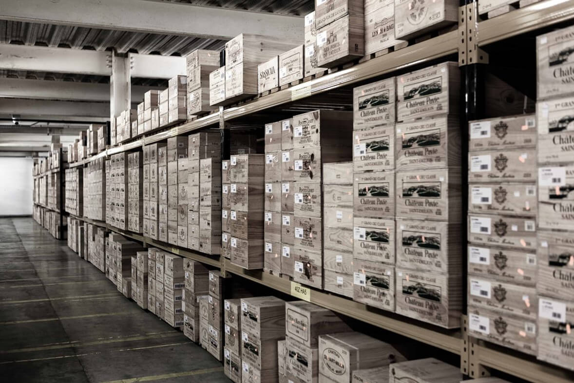 Cru's Storage at Vine International (London City Bond, Tilbury)